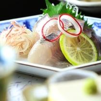 夕食の単品イメージ 岩魚のお造り