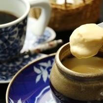 食後にコーヒー&プリンを召し上がれ!
