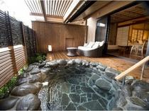 露天風呂付南館一般客室 露天風呂