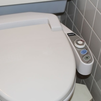 洗浄機能付きトイレ 全室完備