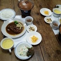 【夕食例】*冬の夕食*