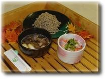 ご昼食〜鴨南蛮蕎麦セット〜