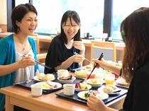 笑顔がこぼれるほど美味しい朝食バイキング!