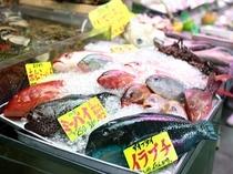 色とりどりの魚達 公設市場①