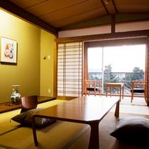 夕陽側・和室■