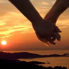 【ご夫婦・カップル限定】縁結びお大師さん迄夕陽お散歩&色浴衣☆二人の距離がグッと縮まる♪恋する島旅♪