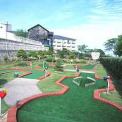 【平日・日帰り温泉】パット練習に最適!オリビアンパットゴルフ♪思いっきり遊んだ後は温泉でのんびり♪