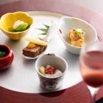 ≪海楽 料理イメージ≫お料理を選べる楽しさ♪メイン料理やデザートなどがあなたの好みで選べます