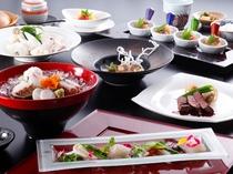 和食とフレンチで味わう創作会席