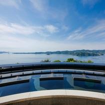 男子展望温泉露天風呂が2016年7月にリニューアル!鳴門海峡に沈みゆく夕映えを眺めながらの湯浴みを