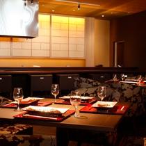 【旬房 海楽】ライブ感溢れるオープンキッチンでプリフィクスディナーを堪能