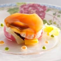 和食とフレンチが融合したプラザ淡路島ならではのメニュー≪料理イメージ≫