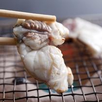 【淡路島3年とらふぐの焼きふぐ】香ばしい香りが食欲をそそる≪料理イメージ≫
