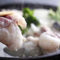 ふぐならではの独特の旨みをストレートにご堪能頂ける「淡路島3年とらふぐてっちり鍋」≪料理イメージ≫