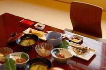 料理 朝食(一例)