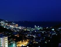 当館からの景色(夜景)