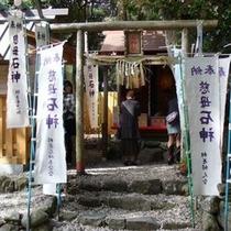 石神さんの社殿