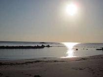 朝の千鳥ヶ浜