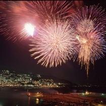 プラン16 アタミ海上花火大会観覧ツアー