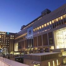JR札幌駅駅からホテルへ地下歩道直結