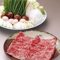 伊賀牛すき焼き(一例)