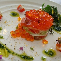 【毎月変わるナチュラルフレンチ】水耕野菜の前菜