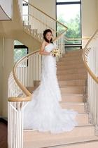 ウエディングドレスを着て写真に残したい!!館内階段