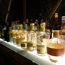 バーひびき〜主人が厳選したウイスキー、アイラモルト、ワイン、シャンパーニュ。