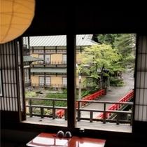 【本館】群馬県重要文化財指定の「イの8」からの風景