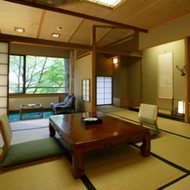 【佳松亭・標準室】佳松亭は静けさと快適さを兼ね揃えたお部屋です