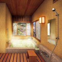 【2017年夏リニューアル】源泉100%かけ流し露天風呂付・和洋室客室が増えます。*画像はイメージ