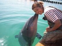 イルカとおねえさん
