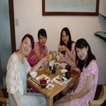 女子会!朝食!