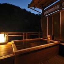 桐の間 露天風呂1