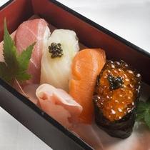 ちょうざめ御膳 生寿司