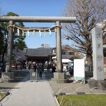 三社祭が有名な浅草神社