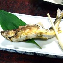*川魚の塩焼き