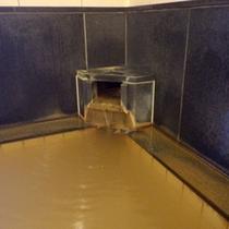 *【湯口】稲穂黄金色の温泉です。