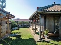 赤瓦家の庭