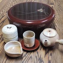 *【客室設備一例】お茶セット