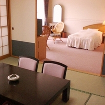 *【和洋室】明るく、ゆったりと寛げるお部屋をご用意いたします。