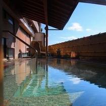【露天風呂 芭蕉の湯】熱海の街並みを望む開放的な露天風呂