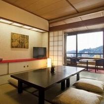 【スタンダード和室10畳】明るいくて快適な湯の街館(本館)和室