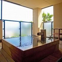 【セミスイート熱海浪漫(ろまん)】源泉かけ流しの露天風呂が付いた特別なお部屋です