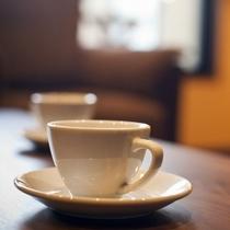【無料タイプサービス】薫り高いモーニングコーヒーをお楽しみ下さい。