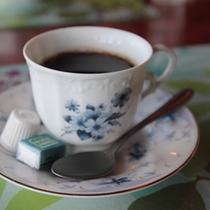 朝食後はモーニングコーヒーをどうぞ♪