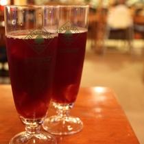 手作りビオワインを使用したサングリアをお試しくださいませ♪