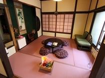 藤色畳のお部屋