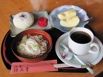 朝食(おにぎり)