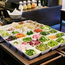 東京ブッフェ(野菜コーナー)